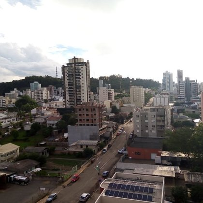 Excelente vista do Centro da cidade!